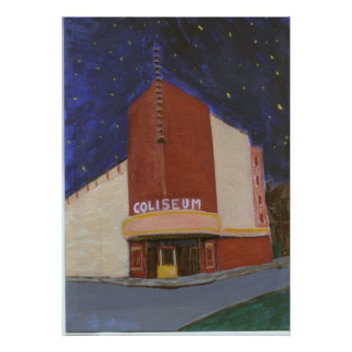 Coliseum Theater New Orleans Poster