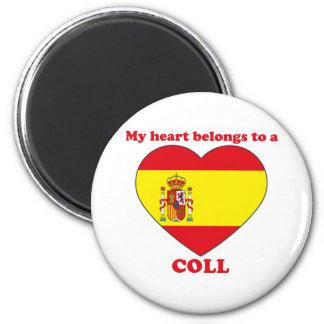 Coll 6 Cm Round Magnet