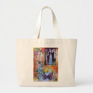 Collage Art Tote Bag