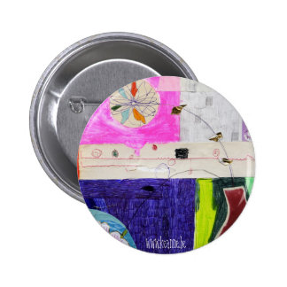 collage_flower_button 6 cm round badge