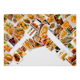 Collage Food Poster