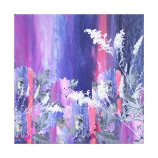 Collage Nature Scene Canvas Print