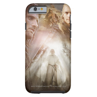 Collage of Characters Tough iPhone 6 Case