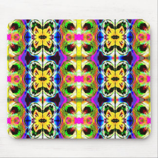 Collage of Colors Mousepads