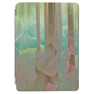 Collage of Oxalis and Trees | Seabeck, WA iPad Air Cover