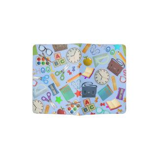 Collage of School Supplies Passport Holder