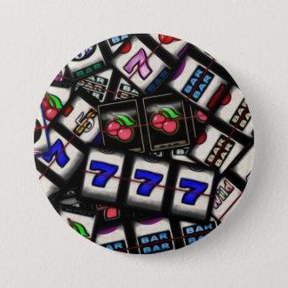 Collage of Slot Machine Reels 7.5 Cm Round Badge