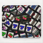 Collage of Slot Machine Reels Mouse Pads