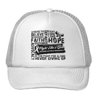 Collage of Words - Retinoblastoma Hats