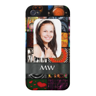 Collage pattern photo template cases for iPhone 4