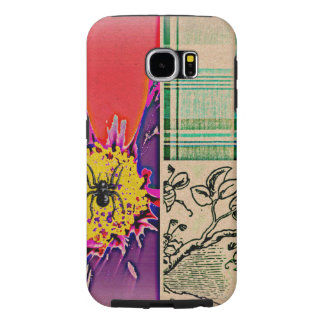 Collage Phone Case Flower Plaid Pop Art Hippie