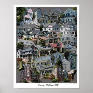 Collage Poster Algonac Michigan