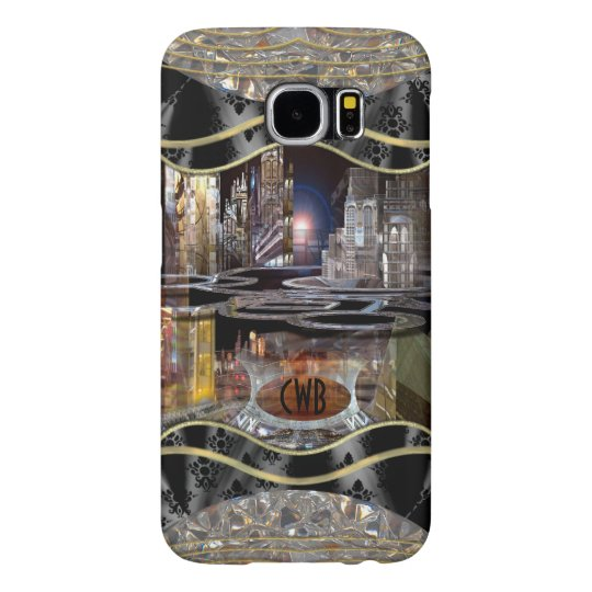 Collap CityScape Monogram Samsung Galaxy S6 Cases