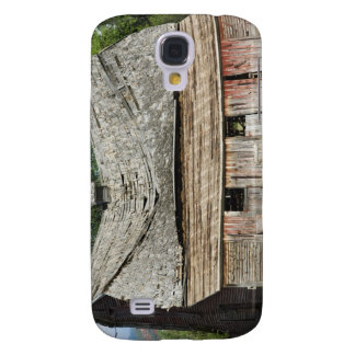 Collapsing Barn Galaxy S4 Case