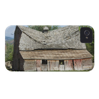 Collapsing Barn iPhone 4 Cases