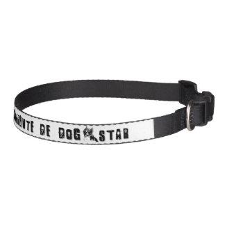 Collar Amstaff dog - Design Lord Red