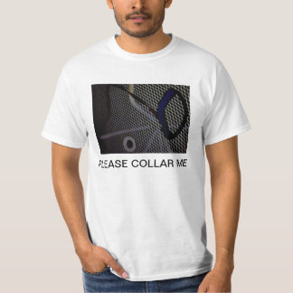 COLLAR AND WHITE CAGE TSHIRTS
