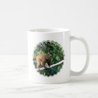 Collared Lemur Coffee Mug