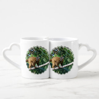 Collared Lemur Lovers Mug