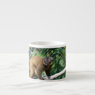 Collared Lemur Specialty Mug Espresso Cups