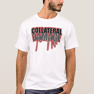 Collateral Damage Red Glow Tee