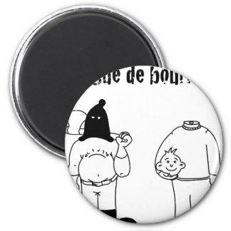 Colleague of Torturer (François City & Gdb Gdblog) 6 Cm Round Magnet
