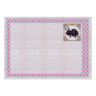 COLLECT AUTOGRAPHS Deco Border Blank Template Card Pack Of Chubby Business Cards