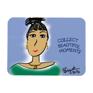 COLLECT BEAUTIFUL MOMENTS MAGNET