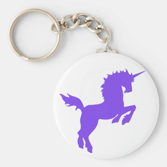 Collectable colours unicorn in Purple Key Chain
