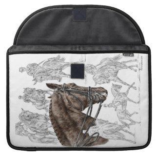 Collected Dressage Horses FEI Sleeve For MacBook Pro