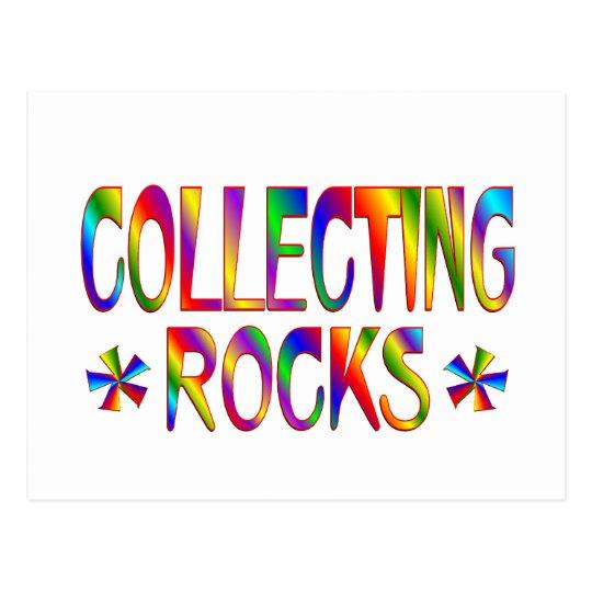 Collecting Rocks Postcard