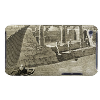 Collecting Water from the Nile, plate 6 from Volum iPod Case-Mate Case