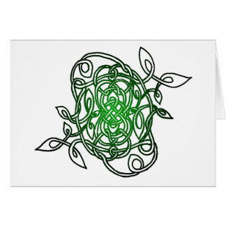 """""""Collection"""" Celtic Knot Greeting Card"""