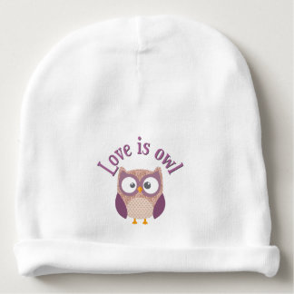 "Collection ""Coils is owl "" Baby Beanie"