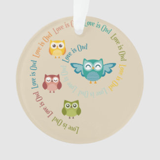 "Collection ""Coils is owl "" Ornament"