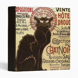Collection du Chat Noir de Rodolphe Salis Fine Binders