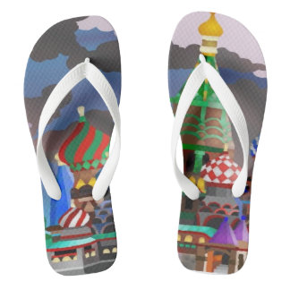 Collection - I love to travel Flip Flops