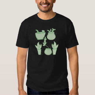 collection of cacti tee shirts