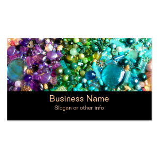 Collection of Colorful Beads Pack Of Standard Business Cards