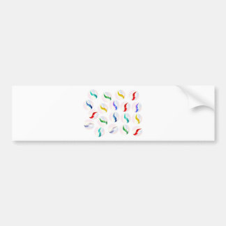 Collection Of Glass Marbles Bumper Sticker
