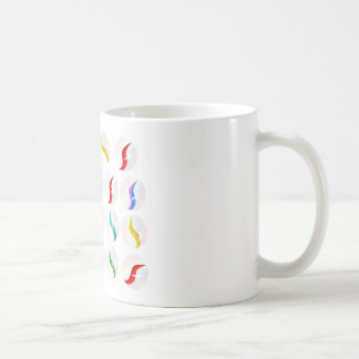 Collection Of Glass Marbles Coffee Mug