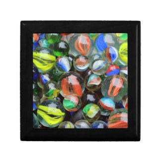 Collection of Glass Marbles Gift Box