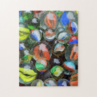 Collection of Glass Marbles Jigsaw Puzzle