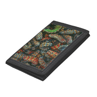 Collection Of Mopane Worms (Imbrassia Belina) Trifold Wallet