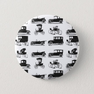 Collection of old and classic cars 6 cm round badge