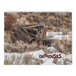 Collection of Outhouses Wall Calendars