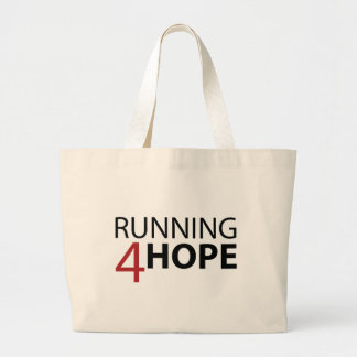 Collection of Running4Hope Launching Large Tote Bag