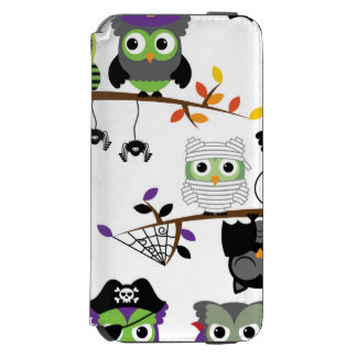 Collection Of Spooky Halloween Owls Incipio Watson™ iPhone 6 Wallet Case