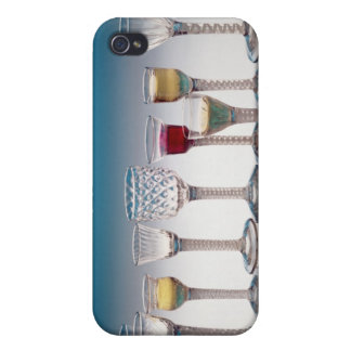 Collection of wine glasses, c.1755-60 iPhone 4/4S cases