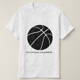 "Collection ""This is not a pokéball"" t-shirt1 T-Shirt"